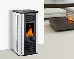 Wood Pellet Stove Double Door